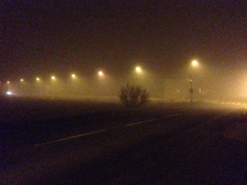 Wieczorne bieganie smog