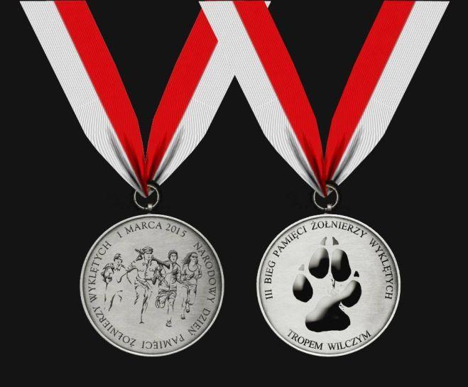 Medal Żory Bieg Tropem Wilczym