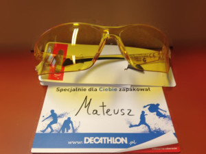 Okulary Decathlon Arenberg żółte