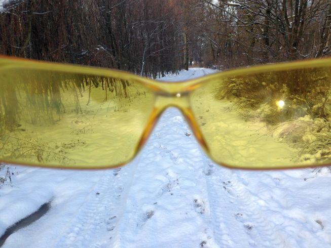Okulary Decathlon Arenberg Zółte
