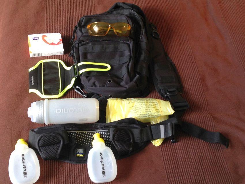 wyposażenie na półmaraton, gadgety