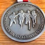 Tropem Wilczym Bieg Pamieci Zolnierzy Wykletych, Żory, 2015, medal