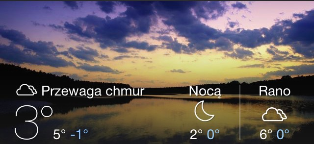 temperatura, yahoo weather