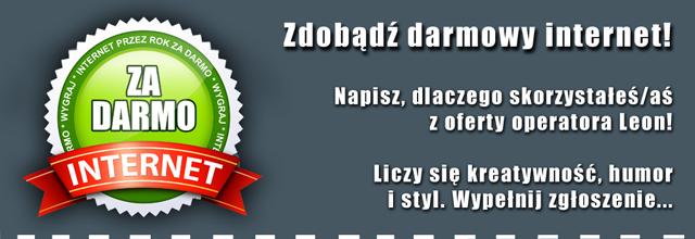 Leon.pl konkurs rok internetu za darmo