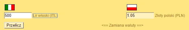 Liry-przelicznik