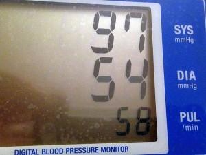 Niskie ciśnienie