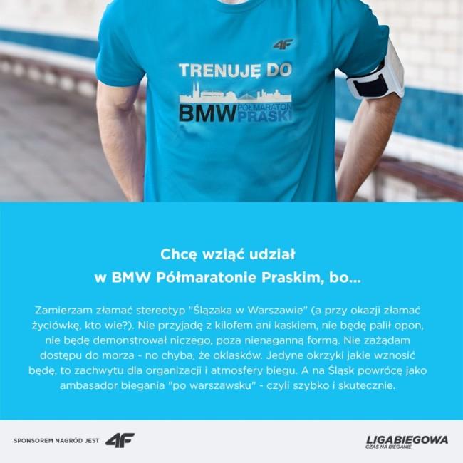 II BMW Polmaraton Praski , nagroda