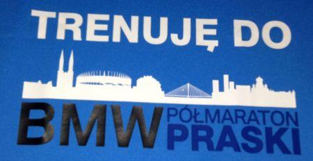 Trenuje do BMW Półmaraton Praski