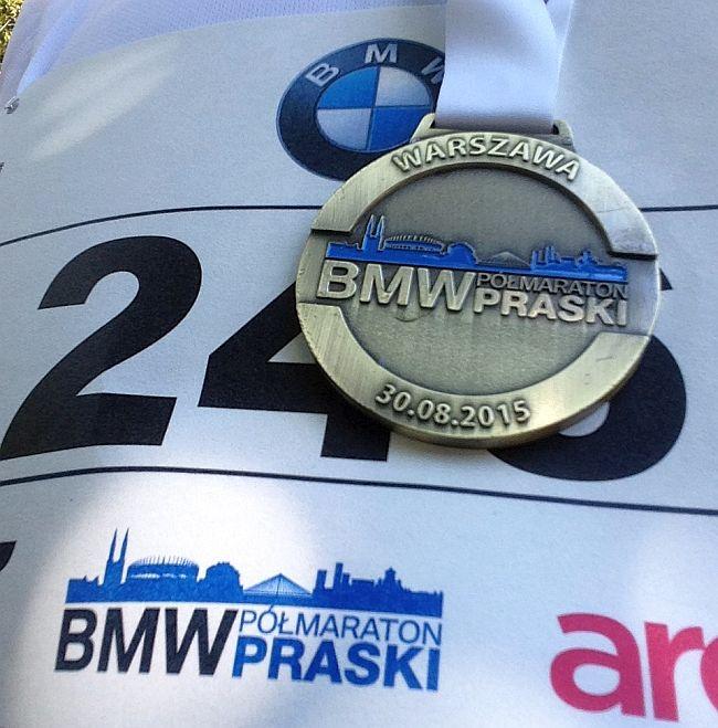 7. Bytomski Półmaraton - medal