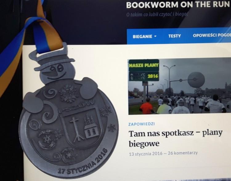 Medal VIII bieg w Pszowie