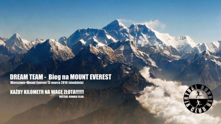 bieg na mount everest