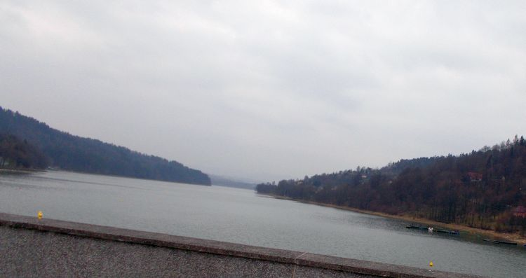 widok jezioro