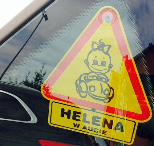 Helena naklejka z imieniem dziecka