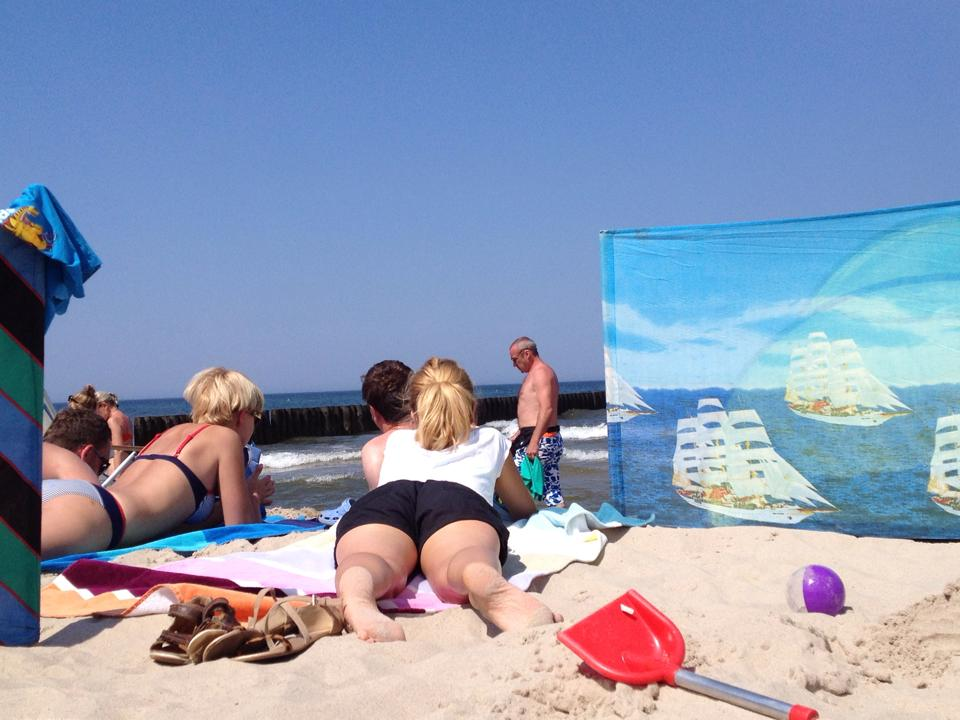 Plaża blokada