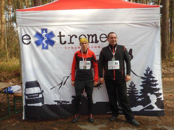 Extreme Trauma Team Ratownicy , bieg tropem wilczym 2015, Żory