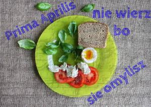 jak zostać wegetarianinem nawet w Prima Aprilis