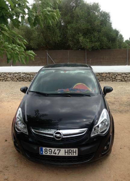 Opel corsa auto z wypożyczalni