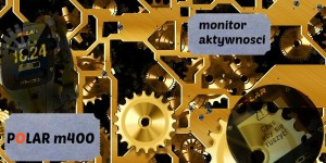 POLAR m400 monitor aktywnosci tytuł