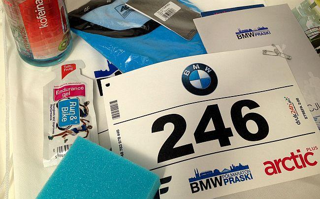 II BMW Półmaraton Praski pakiet