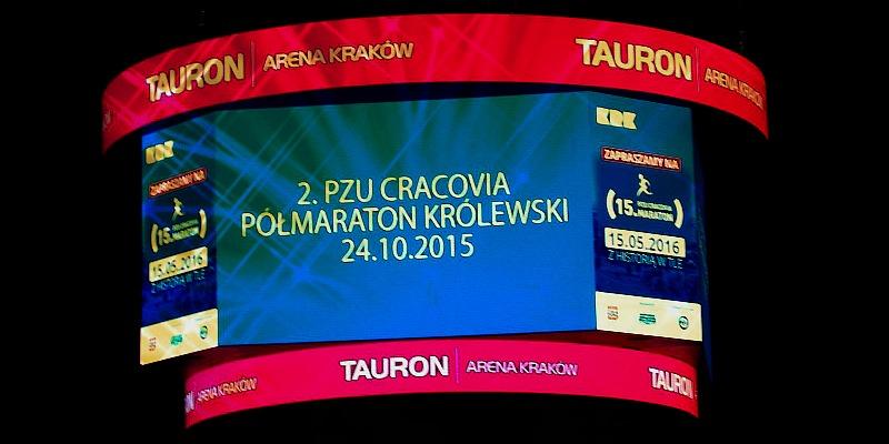 Relacja 2. PZU Cracovia Półmaraton Królewski 2015