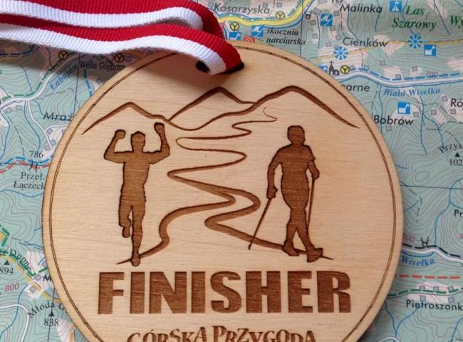 Górska Przygoda 2015 medal finisher