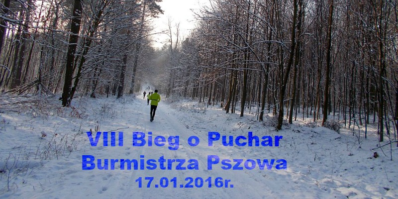 Bieg o Puchar Burmistrza Pszowa
