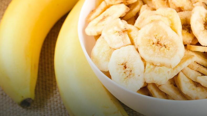 banany przekąska dla biegaczy