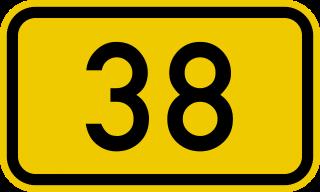 tabliczka 38
