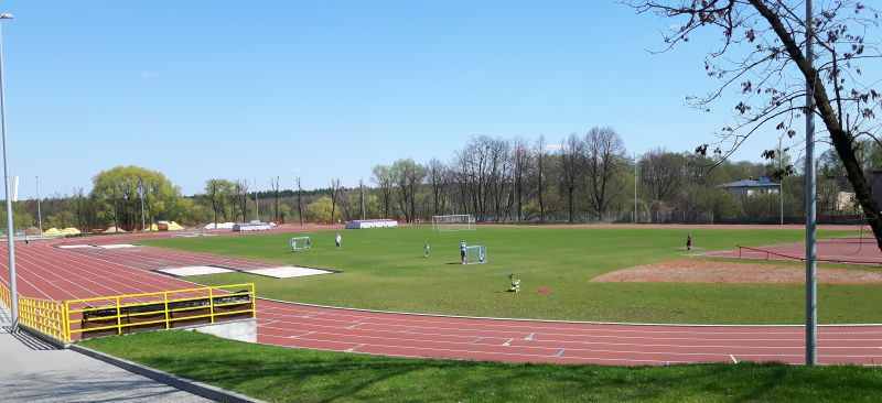Stadion lekkoatletyczny w Rybniku