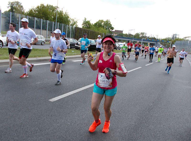 Małgorzata Biegająca Babcia na trasie Wings for Life 2016