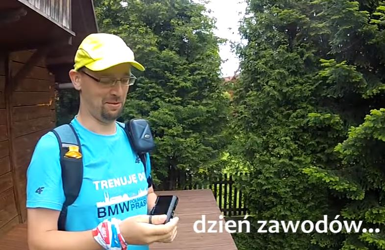 Regatta 1/2 Sky Marathon Babia Góra relacja - aparat nie działa