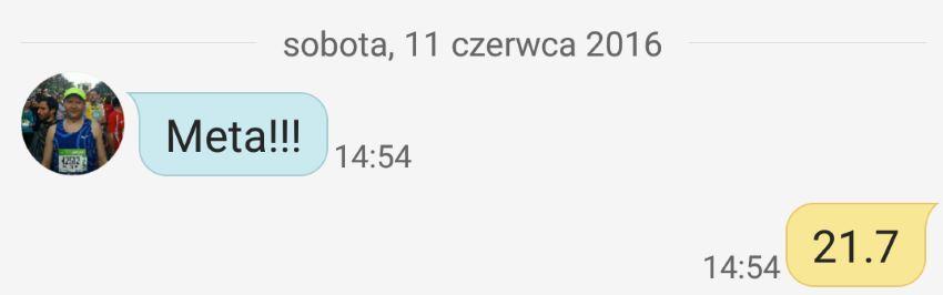 1/2 Sky Marathon Babia Góra 2016 relacja - meta?