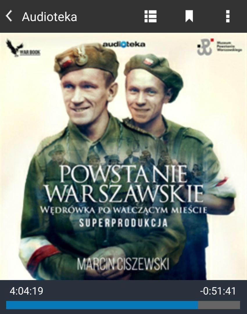Powstanie warszawskie wędrówka po walczącym mieście