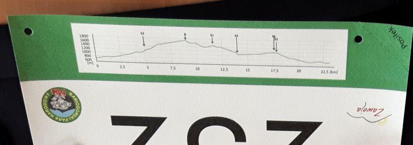 Regatta 1/2 Sky Marathon Babia Góra relacja - numer i profil