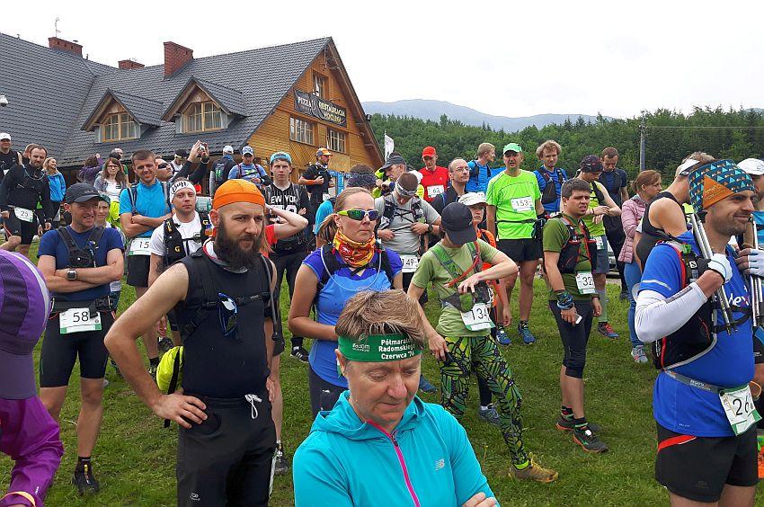 Regatta 1/2 Sky Marathon Babia Góra relacja - przed startem 1/2
