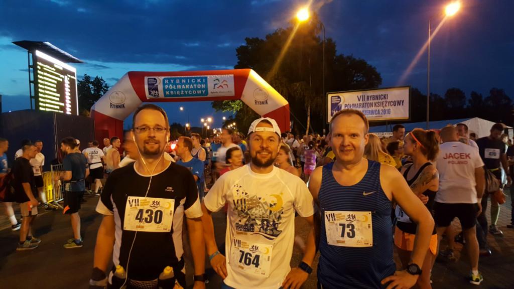 VII Rybnicki Półmaraton Ksiezycowy Relacja 2016