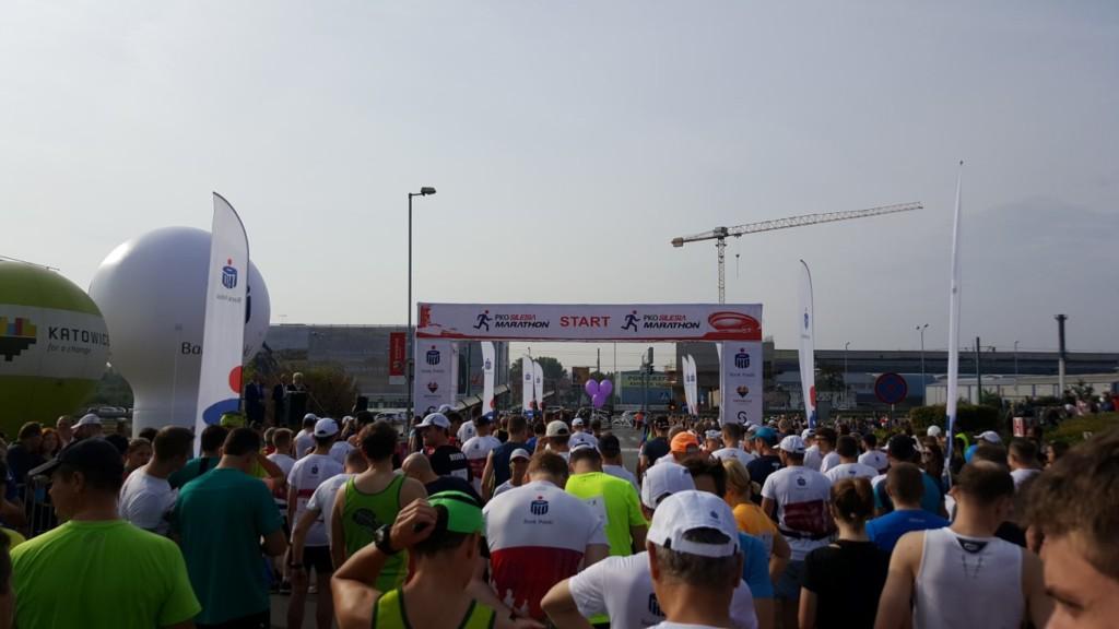start półmaratonu PKO Silesia