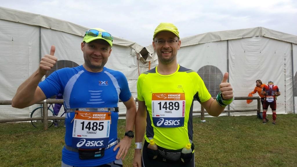 Venice marathon 2016 relacja przed startem