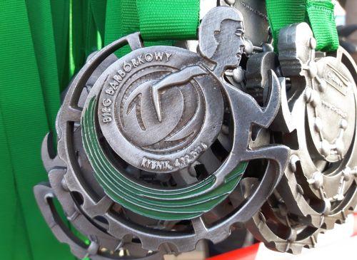 Medal XII Bieg Barbórkowy