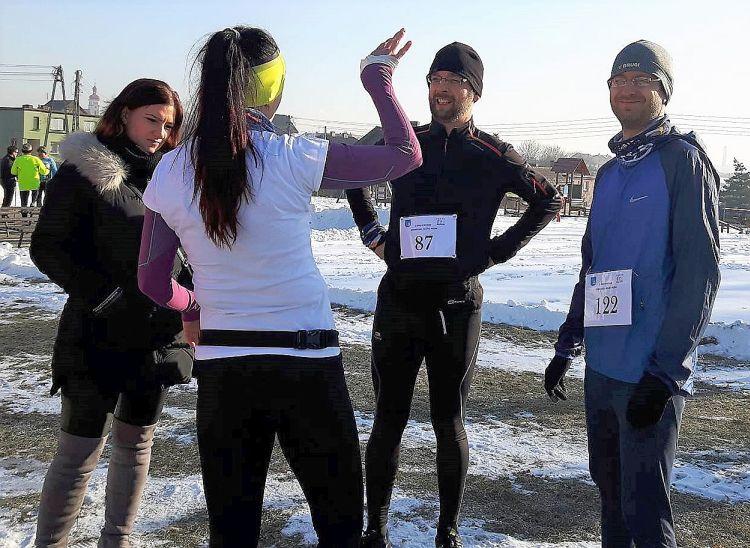 Grupa biegaczy Pszów bieg