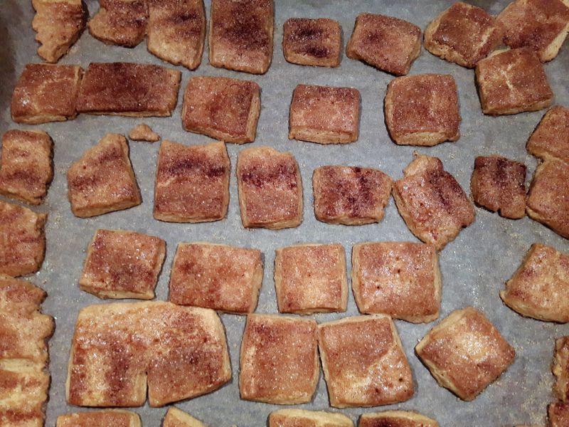 ciastka cynamonowe z przepisu Gesslera