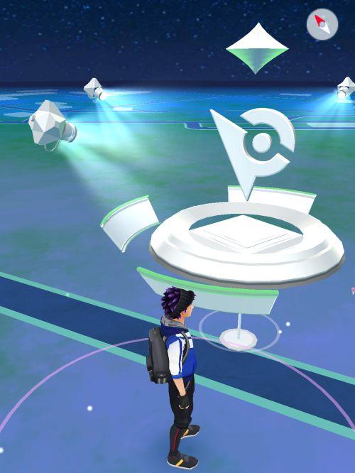 Przed Gymem w Pokemon Go