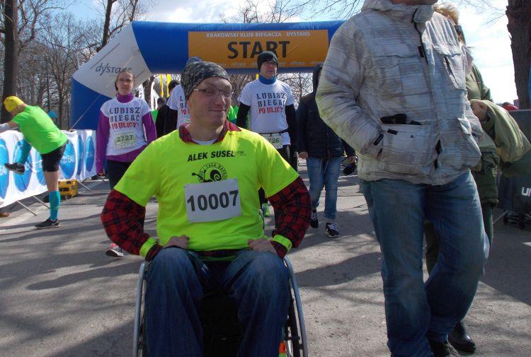 Aleksander Suseł Półmaraton Marzanny
