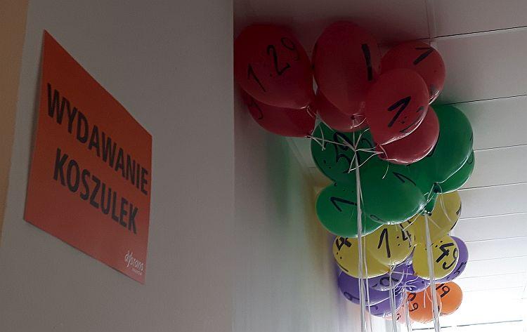 Półmaraton Marzanny balony pacemakerów
