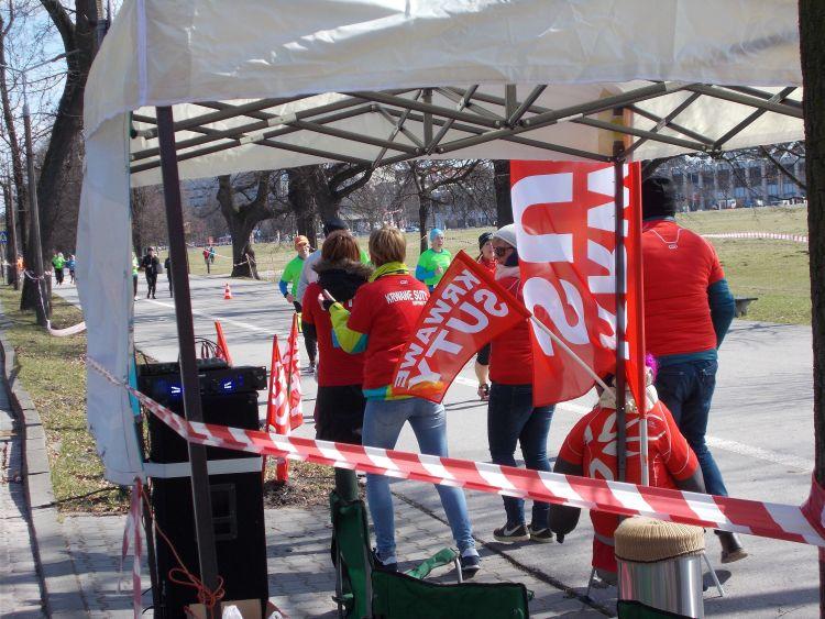 Krwawe Suty grupa biegowa Półmaraton Marzanny