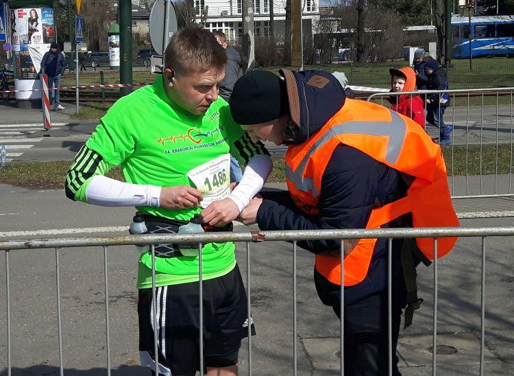 pomoc wolontariusza Półmaraton Marzanny