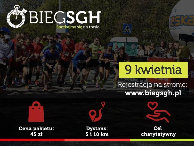 Bieg SGH Warszawa 2017 infografika