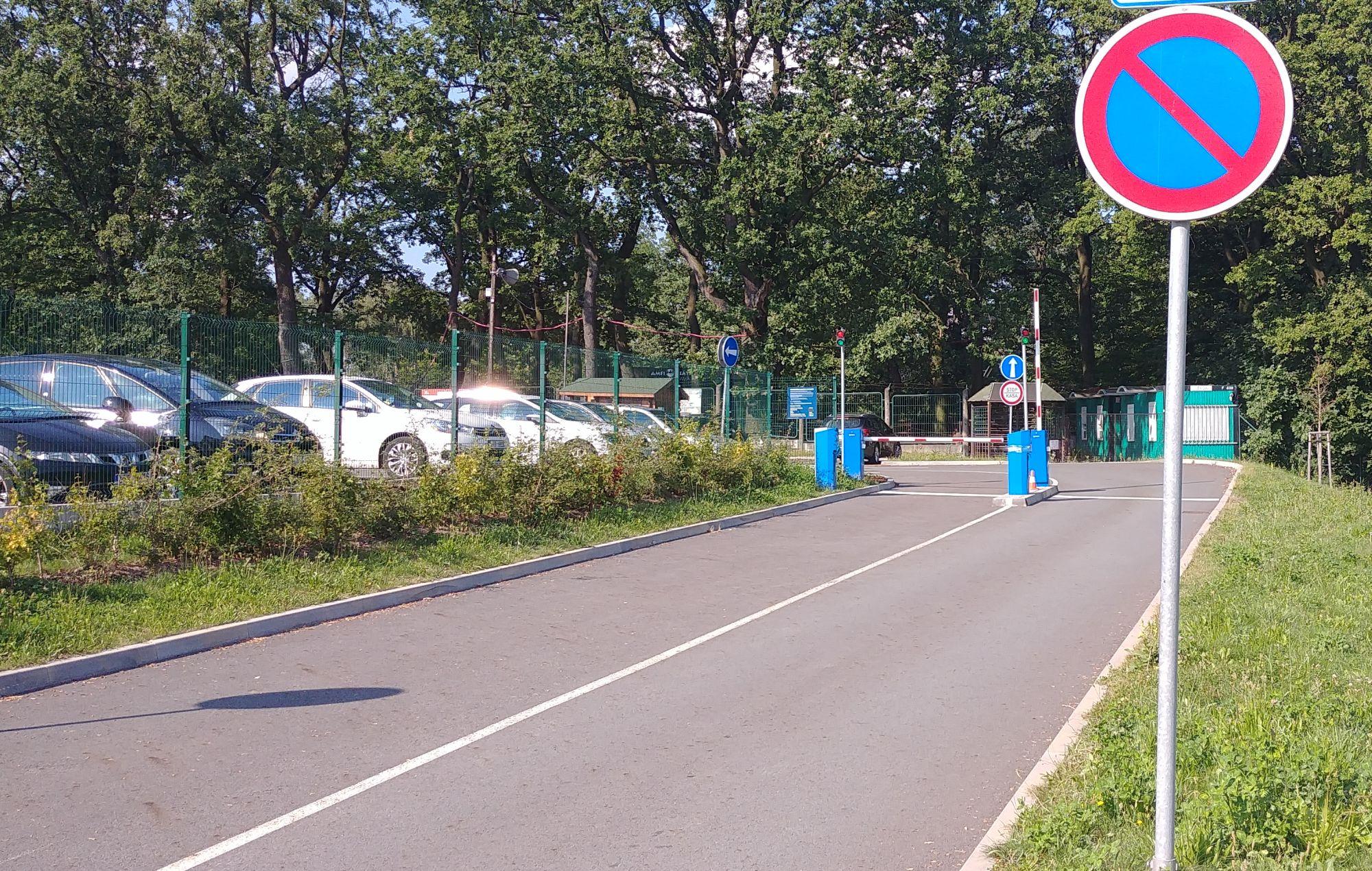 drugi parking w ZOO Ostrava