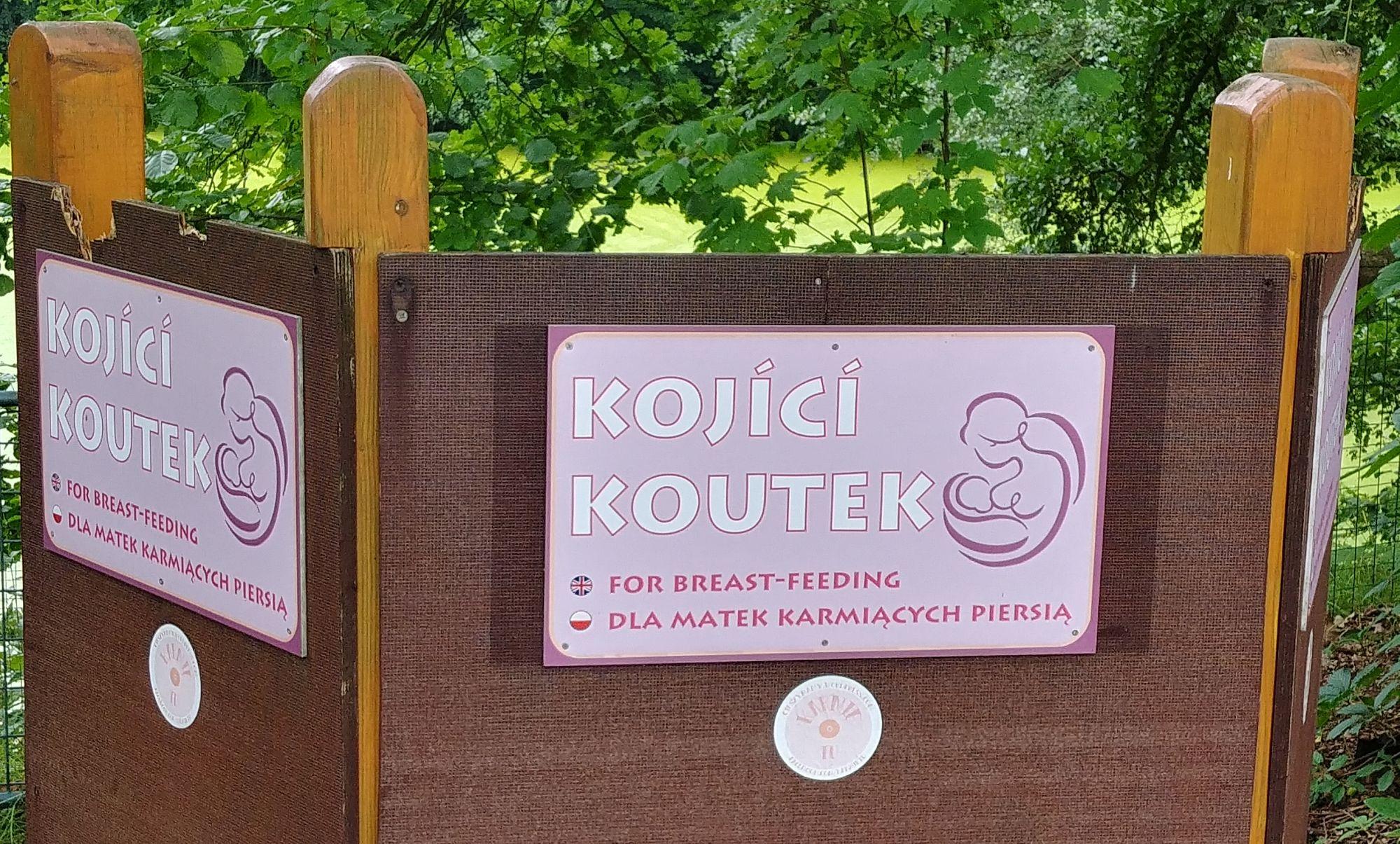karmienie piersią w ZOO Ostrava