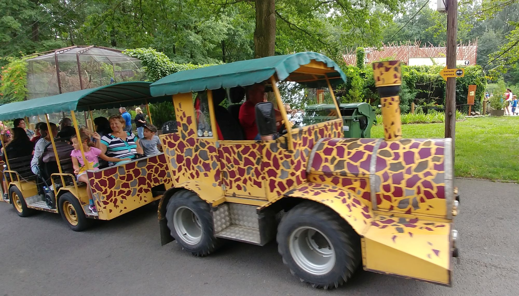 Safari expres ZOO Ostrava